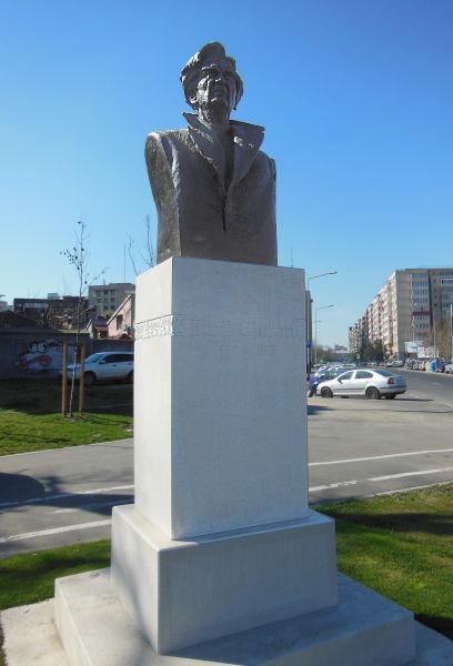 Monumentul lui Emil Cioran din București - foto preluat de pe ro.wikipedia.org