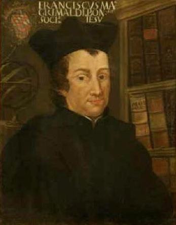Francesco Maria Grimaldi (n. 2 aprilie 1618 – d. 28 decembrie 1663) a fost un preot iezuit, matematician, fizician și astronom italian, care a predat la Colegiul iezuit de la Bologna - foto; ro.wikipedia.org