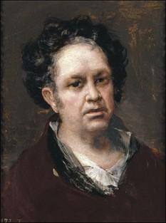 """Francisco José de Goya y Lucientes (n. 30 martie 1746, Fuendetodos/Aragon — d. 16 aprilie 1828, Bordeaux/Franța) a fost un important pictor și creator de gravuri spaniol, la răspântia secolelor al XVIII-lea și al XIX-lea. La un secol după Velázquez și cu un secol înainte de Picasso, Goya este punct de referință pentru două veacuri de pictură spaniolă. Ani de-a rândul Goya a fost artistul curții regale, la fel ca și mulți alți pictori ai secolului al XVIII-lea. Ar fi rămas probabil creator al unei picturi liniștite, echilibrate, dacă nu s-ar fi îmbolnăvit: surzenia îl izolează de lume și îl eliberează de convenția picturii oficiale. La aproape cincizeci de ani, Goya pornește într-o incursiune în străfundurile misterioase și zbuciumate ale sufletului omenesc. Ochiul lui sarcastic, demascator, nu iartă pe nimeni - in imagine, """"Francisco de Goya"""": autoportret, 1815 — Academia San Fernando, Madrid - foto: ro.wikipedia.org"""