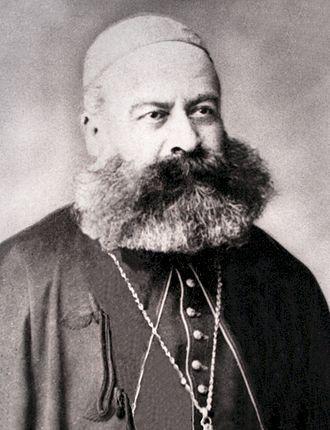 Ignatius Paoli de fapt Feliciano Paoli, (n. 25 iulie 1818, Florența - d. 27 februarie 1885, Viena) a fost ctitorul Catedralei Sfântul Iosif și primul episcop, apoi arhiepiscop al Arhidiecezei de București - in imagine, Arhiepiscopul Ignatius Paoli pe la 1880 - foto: ro.wikipedia.org
