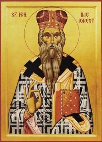 Sfântul Ierarh Mărturisitor Ilie Iorest (cca. 1600- 12 martie 1678) a fost un mitropolit al Transilvaniei din secolul al XVII-lea care a mărturisit dreapta-credință în numele Domnului, suferind persecuții din această cauză. Biserica Ortodoxă Română îl prăznuiește la 24 aprilie, împreună cu sfinții ierarhi si mărturisitori Iosif Mărturisitorul și Sava Brancovici - foto: doxologia.ro