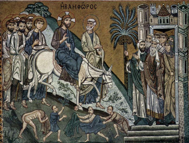 Intrarea Domnului în Ierusalim - foto preluat de pe ro.wikipedia.org