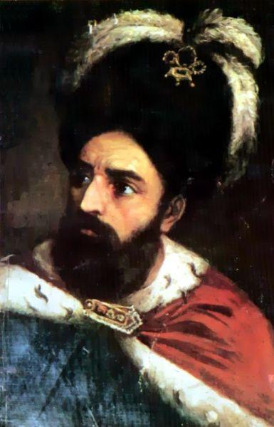 Ioan Vodă cel Viteaz (alternativ Ioan Vodă cel Cumplit sau Ioan Vodă Armeanul; n. 1521 - d. 1574) a fost domnul Moldovei din februarie 1572 până în iunie 1574. Era fiul lui Ștefăniță cu armeanca Serpega. După domnia sa, în Moldova a fost introdusă instituția mucarerului - foto preluat de pe ro.wikipedia.org