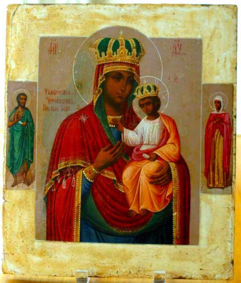 Icoana Maicii Domnului din Tambov - foto: doxologia.ro
