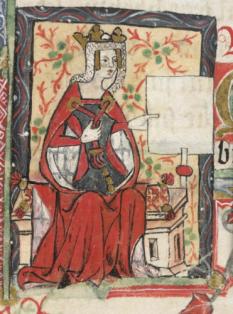 Împărăteasa Matilda (n.cca 7 februarie 1102 – d.10 septembrie 1167), cunoscută ca Matilda a Angliei sau Maude,  fiica și moștenitoarea regelui Henric I al Angliei - foto: cersipamantromanesc.wordpress.com