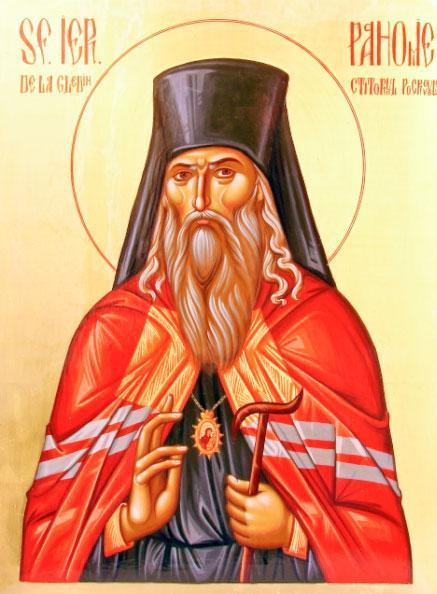 Sfântul Ierarh Pahomie de la Gledin (1671-1724) a fost stareț al Mănăstirii Neamț, devenind apoi episcop al Romanului între 1704-1714. S-a retras din scaunul episcopal întemeind Schitul Pocrov (Acoperământul Maicii Domnului). Apoi a pribegit prin Transilvania și în cele din urmă a ajuns la Pecerskaia Lavra din Kiev. În anul 2007 a fost proslăvit de Biserica Ortodoxă Română, prăznuirea sa făcându-se pe 14 aprilie - foto: basilica.ro