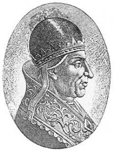 Papa Alexandru al II-lea (născut ca Anselmo da Baggio între 1010 și 1015 la Baggio lângă Milano; + pe data de 21 aprilie 1073 la Roma) a fost un papă al Romei. Încă din anii tinereții făcea parte din Curia Romană. Episcop al orașului Lucca din 1056, pe 30 septembrie 1061 a ajuns papă numindu-se Alexandru al II-lea. Cel mai puternic sprijin îl primea atunci din partea arhidiaconului Hildebrand (viitorul papă Grigore al VII-lea. Sprijinul acordat de Hildebrand este și dovada că Alexandru trebuie să fi făcut parte din tabăra favorabilă reformelor. Încă trei ani de zile episcopii din Imperiu îl susțineau pe anti-papă Honoriu al II-lea. În 1064 au fost și ei ispuși să-l recunoască pe Alexandru (Sinodul de la Mantra din 1064). În timpul pontificatului lui urma să crească influența politică a bisericii. Deosebit de binevoitor era papa în legătură cu intențiile lui William Cuceritorul să ajungă# regele Angliei. Însă influența politică a papei a stârnit și tensiuni noi în raport cu partida imperială din Germania (în deosebi cu tânărul împărat Henric al IV-lea), deoarece Alexandru se opunea cu strictețe planurilor lui Henric să divorțeze de soția sa Bertha - foto: ro.wikipedia.org