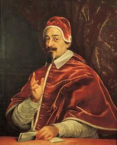 Papa Alexandru al VII-lea (n. Fabio Chigi) (n. 13 februarie 1599 Siena – d. 22 mai 1667 Roma) a deținut funcția de papă între anii 1655-1667. Familia Chigi din Sienna a fost una din cele mai puternice familii din Italia - foto: ro.wikipedia.org