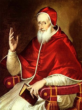 Papa Pius al V-lea (nume civil, Antonio Ghislieri, n. 17 ianuarie 1504 -d. 1 mai 1572), a fost un papă al Romei (7 ianuarie 1566 - mai 1572)  - foto: ro.wikipedia.org