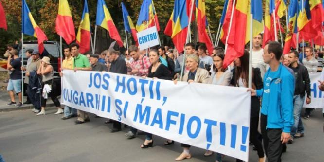 Protest la Chişinău (24 aprilie 2016) - foto: zdg.md