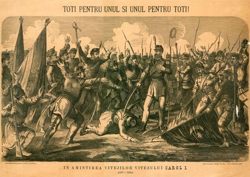 Războiul de Independență de la 1877 - foto preluat de pe cersipamantromanesc.wordpress.com