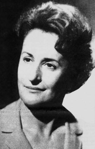 Sofia Ionescu-Ogrezeanu (n. 25 aprilie 1920, Fălticeni-d. 21 martie 2008) a fost prima femeie neurochirurg din lume - foto preluat de pe edituramateescu.ro