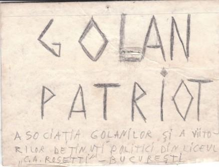 """Un alt ecuson de """"golan"""" pe care mi l-am confecţionat şi l-am folosit în epocă - Alexandru Cristian Surcel - foto: marturiilehierofantului.blogspot.ro"""