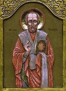 Sfântul Ierarh Teotim I Scitul a fost episcop de Tomis la sfârşitul secolului al IV-lea. Pomenirea lui se face în Biserica Ortodoxă la data de 20 aprilie - foto: ro.orthodoxwiki.org