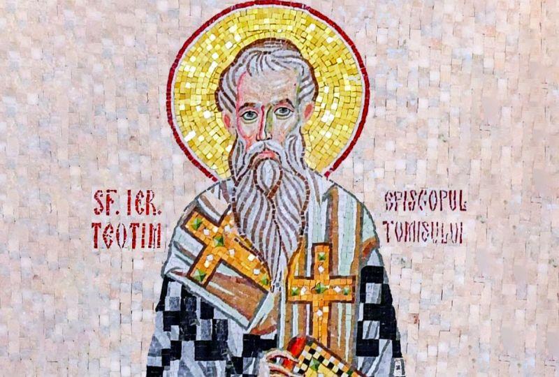 Sf. Ier. Teotim, episcopul Tomisului (sec. IV) - foto preluat de pe ziarullumina.ro