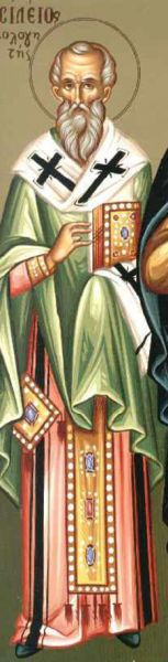 Sfântul Ierarh Vasile Mărturisitorul, Episcopul Pariei. Prăznuirea sa de către Biserica Ortodoxă se face la data de 12 aprilie - foto: doxologia.ro
