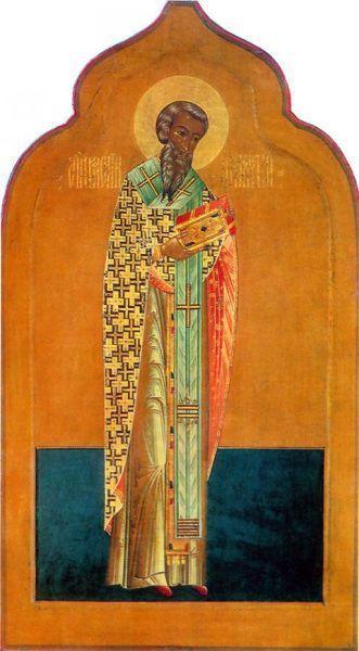 Sfântul Sfinţit Mucenic Vasilevs, Episcopul Amasiei - foto preluat de pe basilica.ro
