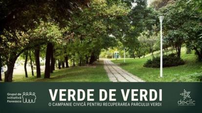 Verde de Verdi - O campanie civica pentru recuperarea parcului Verdi - foto: de-clic.ro