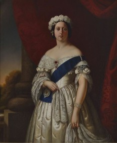 Regina Victoria (1819 - 1901) purtând Ordinul Jartierei la brațul stâng - foto: ro.wikipedia.org