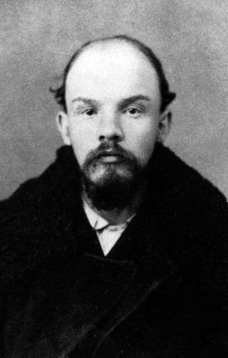 Portretul lui Lenin, decembrie 1895 - foto preluat de pe ro.wikipedia.org