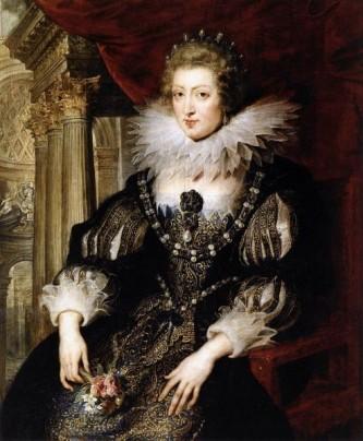 Ana de Austria (Ana María Maurícia) (n. 22 septembrie 1601, Valladolid, Spania — d. 20 ianuarie 1666, Paris, Franța) a fost infantă a Spaniei, regină a Franței și a Navarei, soția regelui Ludovic al XIII-lea și regentă (1643-1651) pentru fiul său, Ludovic al XIV-lea. În timpul regenței ei, Cardinalul Mazarin a fost prim-ministru. A fost una dintre personajele principale în romanul lui Alexandre Dumas, Cei trei muschetari - in imagine, Anna de Austria de Peter Paul Rubens,1625 - foto: ro.wikipedia.org