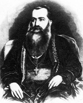 Andrei Șaguna (n. 20 decembrie 1808, Mișcolț, Ungaria - d. 28 iunie 1873, Sibiu) a fost un mitropolit ortodox al Transilvaniei, militant pentru drepturile ortodocșilor și ale românilor din Transilvania, fondator al Gimnaziului Românesc din Brașov (1851), membru de onoare al Academiei Române. Pentru faptele sale sfinte Biserica Ortodoxă Română l-a proslăvit ca sfânt (canonizat) la 21 iulie 2011. Prăznuirea lui se face la 30 noiembrie. cititi mai mult pe www.unitischimbam.ro - foto preluat de pe en.wikipedia.org