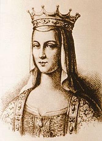 Anna de Kiev (sau Anna Yaroslavna) (1024/1032 - 1075) a fost regină consort a Franței ca soție a regelui Henric I al Franței și regentă pentru fiul ei, Filip I al Franței - foto: ro.wikipedia.org