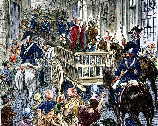 Executarea lui Antoine Laurent Lavoisier - foto: cersipamantromanesc.wordpress.com