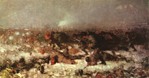 """Nicolae Grigorescu, """"Atacul de la Smârdan"""" (1878) - foto: ro.wikipedia.org"""