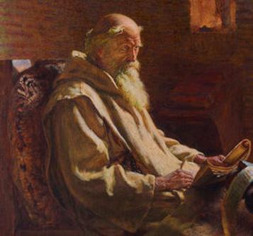 Beda Venerabilul, (Venerabilul Beda) (n. 672 - d. 25 mai 735) a fost un călugăr benedictin în mănăstirea Sf. Petru și Sf. Paul în Wearmouth (astăzi, o parte din Sunderland), în Anglia, și la Jarrow, Northumberland, venerat ca sfânt. Cărturar cu vederi multilaterale, a fost unul dintre cei mai invățați oameni din Europa acelei epoci - foto: ro.wikipedia.org