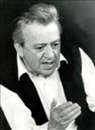 Cornel Vulpe (n. 19 mai 1930, Bălcăuți, județul Hotin - d. 4 septembrie 2002, București) a fost un actor român de teatru și film - foto: yorick.ro