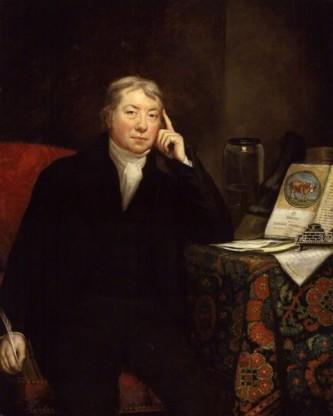 Edward Jenner (n. 17 mai 1749 - d. 26 ianuarie 1823) a fost un doctor din Berkeley, Gloucestershire, Anglia, cunoscut pentru cercetarea și munca lui introducând un vaccin pentru variolă, o boală care a ucis milioane de oameni de-a lungul secolelor - foto: ro.wikipedia.org