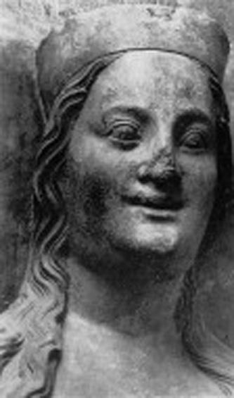 Elisabeta de Pomerania (1347 – 15 aprilie 1393) a fost a patra și ultima soție a lui Carol al IV-lea, Împărat romano-german și rege al Boemiei. Părinții ei au fost Bogislaw al V-lea, Duce de Pomerania și Elisabeta a Poloniei. Bunicii materni au fost Cazimir al III-lea al Poloniei și Aldona a Lituaniei - foto: ro.wikipedia.org