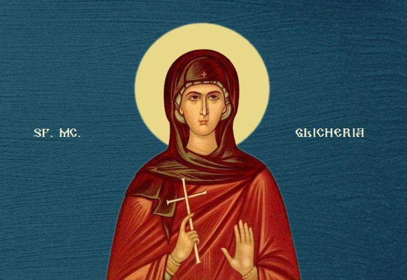 Sfânta Muceniță Glicheria. Prăznuirea sa de către Biseriva Ortodoxă se face la data de 13 mai - foto preluat de pe ziarullumina.ro