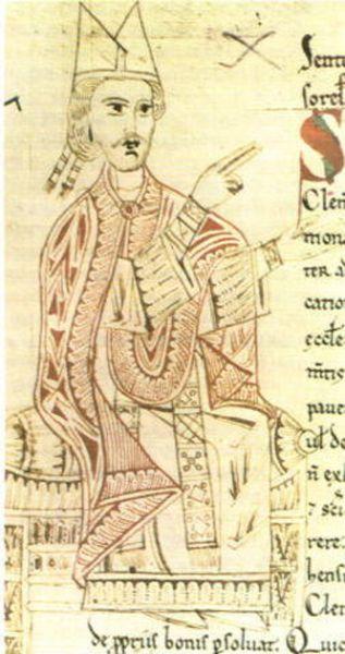Papa Grigore al VII-lea a fost papă al Romei între anii 1073-1085. Născut între (aprox.) 1019-1030 pe numele cetățenesc de Hildebrand este în Scaunul Papal între 1073-1085 - foto: ro.wikipedia.org