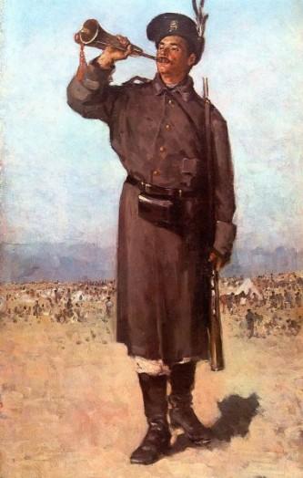 """Nicolae Grigorescu, , """"Gornistul"""" (1874) - foto: ro.wikipedia.org"""