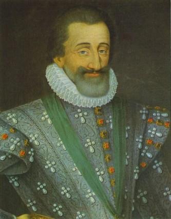 """Henric de Bourbon (franceză Henri IV; denumit și Henric cel Mare (Henri le Grand) iar în regiunea lui de baștină, Gasconia, unde era iubit, era numit și """"regele nostru Henric"""" (13 decembrie 1553 – 14 mai 1610), a fost rege al Navarei (1572-1610) și rege al Franței (1589-1610), primul rege din familia de Bourbon - foto: ro.wikipedia.org"""