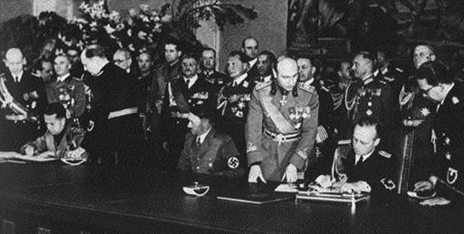 "22 mai 1939: Germania si Italia semneaza ""Pactul de Otel"" - foto: mapsofworld.com"