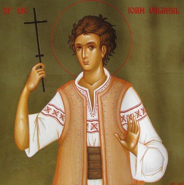 Sfântul Mucenic Ioan Valahul (1644 - 1662) foto preluat de pe ro.orthodoxwiki.org