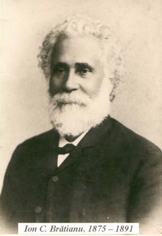 Ion C. Brătianu (n. 2 iunie 1821, Pitești – d. 16 mai 1891, satul Florica, județul Argeș) a fost un om politic român, fratele lui Dumitru C. Brătianu. A fost membru de onoare (din 1888) al Academiei Române - foto preluat de pe ro.wikipedia.org
