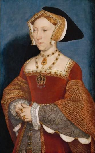 Jane Seymour (1508/1509 – 24 octombrie 1537), a fost a treia soție a regelui Henric al VIII-lea al Angliei. Ca regină a Angliei i-a succedat lui Anne Boleyn - foto: ro.wikipedia.org