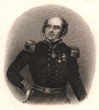 Sir John Franklin (n. 16 aprilie 1786 – d. 11 iunie 1847) a fost un contra-amiral în cadrul Marinei Regale Britanice, explorator al zonei arctice și guvernator al Tasmaniei. A dispărut într-o expediție al cărei obiectiv era explorarea și cartografierea unei secțiuni a Pasajului de nord-vest - foto: ro.wikipedia.org