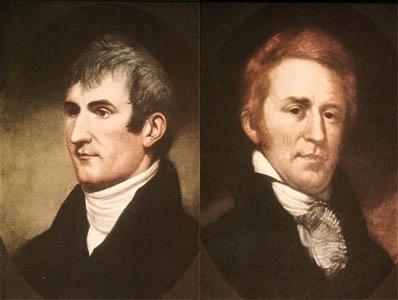 Lewis și Clark - foto: ro.wikipedia.org
