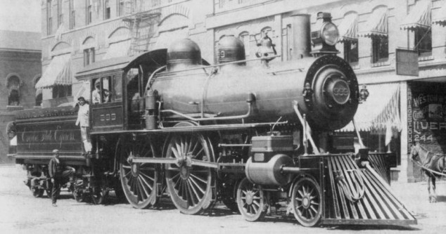 10 mai 1893: Locomotiva cu aburi nr 999 NYC New York Central Railroad a devenit primul vehicul care a atins o viteză de 112,5 mph (181,1 km/h) - foto: ro.wikipedia.org