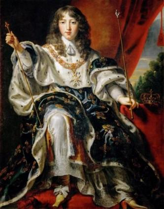 Ludovic al XIV-lea (n. 5 septembrie 1638, Saint-Germain-en-Laye – d. 1 septembrie 1715, Versailles) a fost regele Franței și al Navarei. A condus Franța timp de 72 de ani – una dintre cele mai lungi domnii din istoria europeană. Supranumit Regele Soare (Le Roi Soleil) sau Ludovic cel Mare (Louis Le Grand), i-a urmat la tron tatălui său în 1643, când era un copil de aproape 5 ani, dar a condus personal guvernul din 1661, până la moartea sa în 1715 - in imagine, Ludovic al XIV-lea, de Juste d'Egmont - foto: ro.wikipedia.org