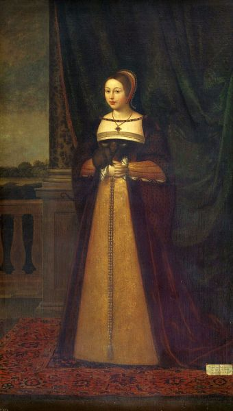 Margareta Tudor (28 noiembrie 1489 – 18 octombrie 1541) - in imagine, Pictură a reginei Margareta de Daniel Mytens -  foto: ro.wikipedia.org