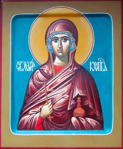 Sfânta Mironosiță Maria lui Cleopa (23 mai) -foto preluat de pe basilica.ro