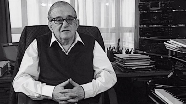 Marius Constant, (n. la 7 februarie 1925, Bucuresti - d. 15 mai 2004), compozitor francez de origine română - foto: youtube.com