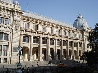 Muzeul Național de Istorie a României este cel mai important muzeu al statului român. Deține obiecte cu valoare istorică descoperite pe teritoriul actual al României din timpuri preistorice și până în perioada contemporană - foto: ro.wikipedia.org