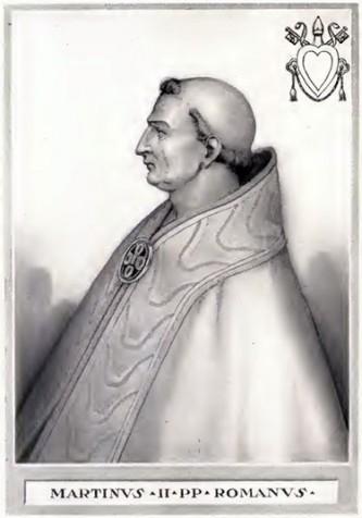Papa Marin al II-lea a fost Papă al Romei în perioada 30 Octombrie 942 - Mai 946. Papa Marin al II-lea este adseori condundat cu Papa Martin al III-lea. Papa Marin al II-lea a fost ales și a funcționat sub influența lui Alberic al II-lea - foto: ro.wikipedia.org